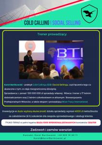 Cold Calling i Social Selling program