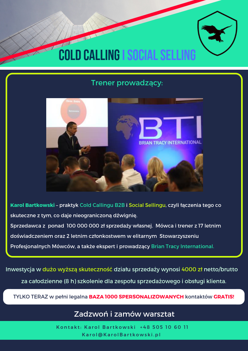 ColdCalling.pl i Social Selling