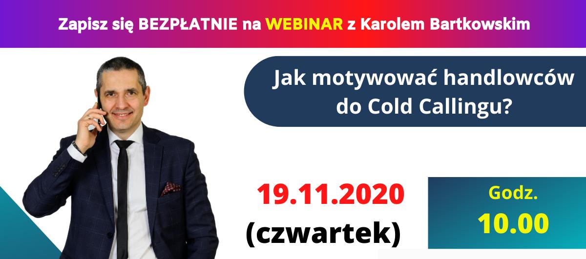 Karol Bartkowski webinar 19.11.